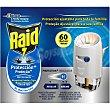 Insecticida eléctrico antimosquitos líquido aparato + recambio 1 ud 1 ud Raid