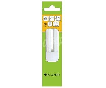 SEVENON Bombilla Micro 3U E27 15W luz cálida 1 Unidad