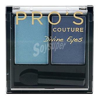 Pro's Les Cosmétiques Sombra de ojos dúo 351 Couture Divine Eyes 1 ud