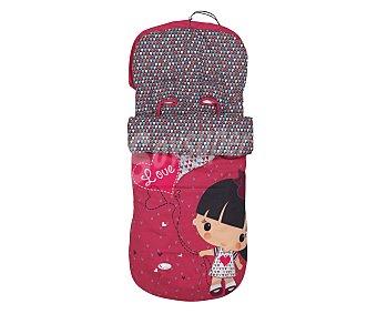 Interbaby Saco universal para silla de paseo, niña fantasía