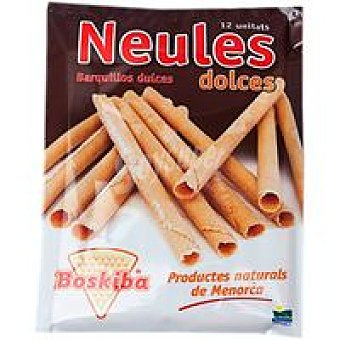 BOSKIBA Neules dolces Paquete 47 g