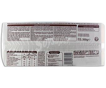Auchan Bizcocho con cacao relleno con leche y coco 350 gramos