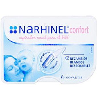 NARHINEL Aspirador nasal Confort Pack 1 unid. + 2 Recambios
