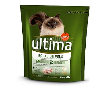 Ultima Affinity Control Bolas de Pelo Para gatos Bolsa 800 g