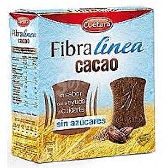 Cuétara Fibra línea de cacao sin azúcar Caja 360 g