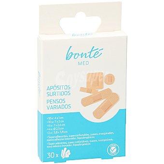 Bonté Tiritas surtidas caja 30 uds 30 uds