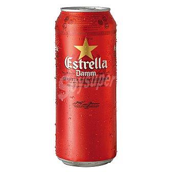 Estrella Damm Cerveza Lata de 50 cl
