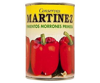 Martinez Pimientos entero morrones primera 250 gr