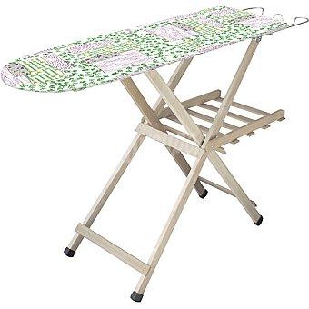 Porta Woody mesa de planchar de madera con bandeja ropa 1 unidad
