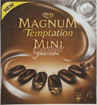 Frigo Magnum Helado mini temp ch.negro 6 UNI