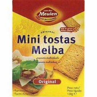 Vdmeulen Pan tostado Melba Paquete 100 g