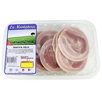 LA MONTAÑERA Magreta de cerdo al ajillo Bandeja 300 g