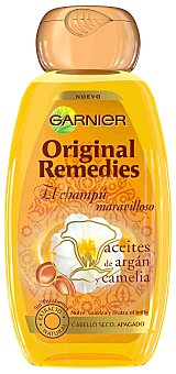 Original Remedies Garnier Champú de argán-camelia Bote 250 ml