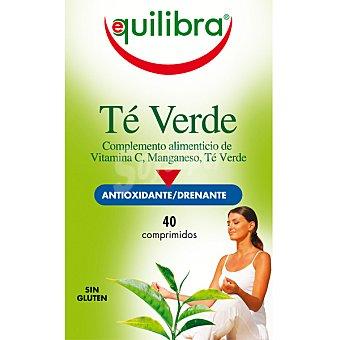Equilibra té verde Envase 40 comprimidos