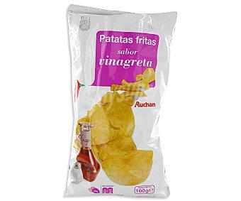 Auchan Patatas fritas con sabor vinagreta, 160 gramos