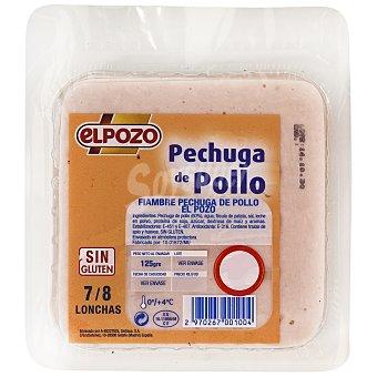 ElPozo Pechuga de pollo 125 g