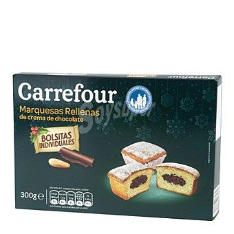 Carrefour Marquesas rellenas de crema de chocolate 300 g