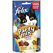 Purina Felix Snacks para Gatos Party Mix Original 60 g Purina Felix
