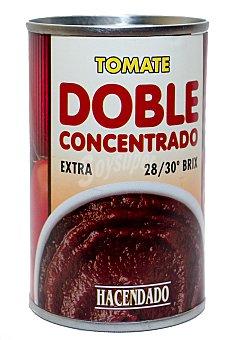 Hacendado Tomate natural doble concentrado Lata 170 g