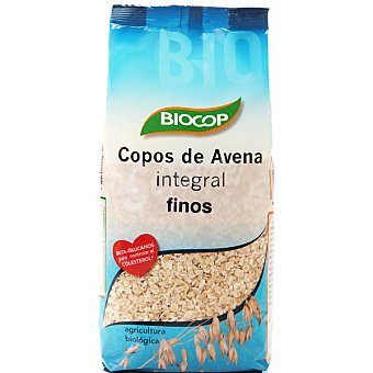 BIOCOP Copos avena integral biológica Bolsa 500 g