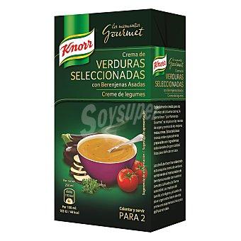 Knorr Crema de verduras seleccionadas con berenjenas asadas 500 ml