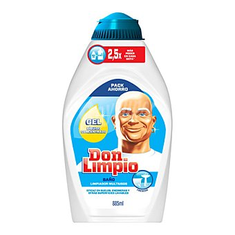 Don Limpio Gel limpiador baño multiusos 885 ml