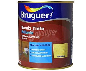BRUGUER Barniz Tinte Incoloro, Acabado Brillante 0,75 Litros