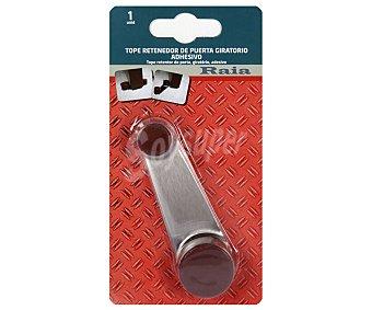 RAIA Tope Retenedor Giratorio Adhesivo con Tornillo, Color Marrón 1 Unidad