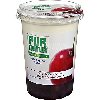 Pur Natur Yogur con cereza ecológico Tarrina 500 g