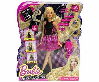BARBIE Muñeca Barbie con Accesorios de Peluquería 1 Unidad