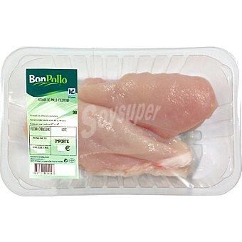 BONPOLLO pechuga entera de pollo formato ahorro peso aproximado bandeja 1 kg