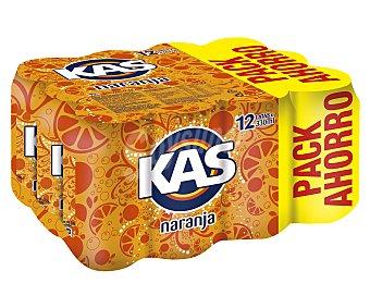 Kas Refresco de naranja 12 latas de 33 cl