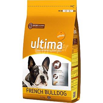 Ultima Affinity alimento especial para perros adultos de raza French Bulldog  bolsa 1,5 kg