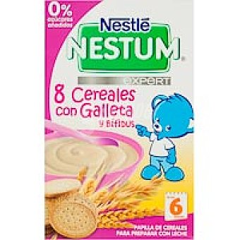 Nestlé Nestum 8 cereales con galleta Bote 500 g
