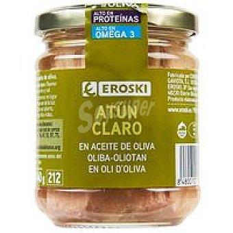 Eroski Atún claro en aceite de oliva Tarro 185 g