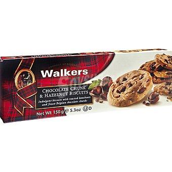 Walkers Galletas con trozos de chocolate y hazelnut estuche 150 g estuche 150 g