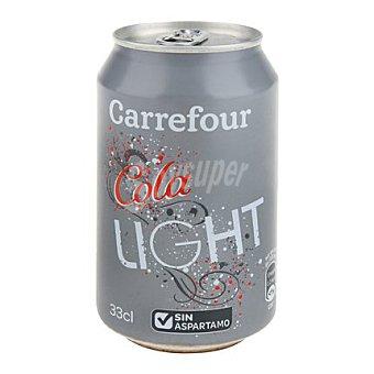 Carrefour Refresco de cola light 33 cl