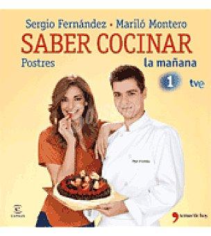 Montero Saber cocinar postres (mariló )