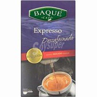 Café Baqué Café molido espresso descafeinado Caja 250 g