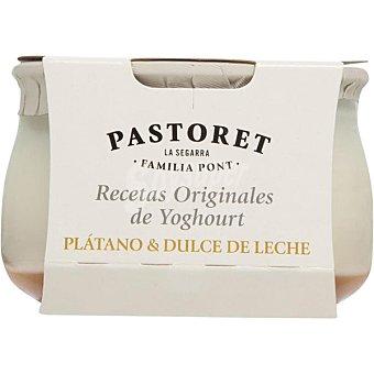 El Pastoret Yogur con plátano dulce Envase 150 g