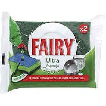 Fairy Esponja ultra Pack 2 unid