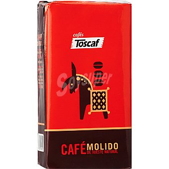 Toscaf Cafe natural molido extra Paquete 250 g