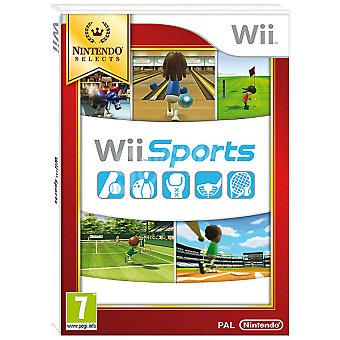 WII Wii videojuego Wii Sports  1 unidad