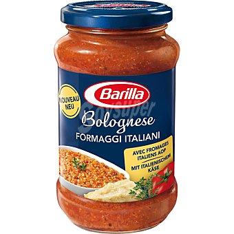 BARILLA Salsa boloñesa con queso italiano frasco de 400 g