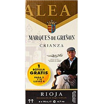MARQUES DE GRIÑON CRIANZA P-3 X 0 Caja 75 L +1 gratis