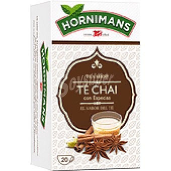 Hornimans Té Chai Caja 20 bolsitas (40 g)