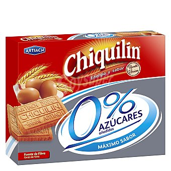 Chiquilín Artiach Galletas Chiquilin 0% Azúcares Paquete 525 g