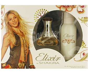 Shakira Elixir Estuche Colonia Mujer: Colonia 50ml + Desodorante 150ml 1u