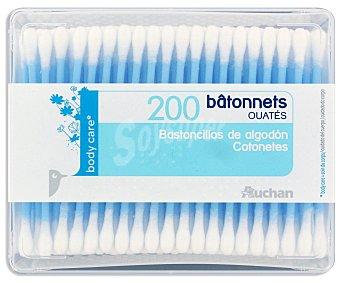Auchan Bastoncillos 200 Unidades