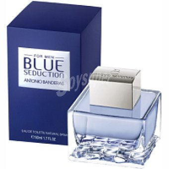 B. Seduction A. BANDERAS Colonia para hombre Frasco 50 ml